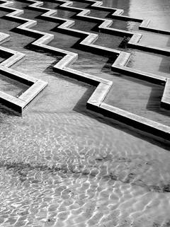 Urban water flow