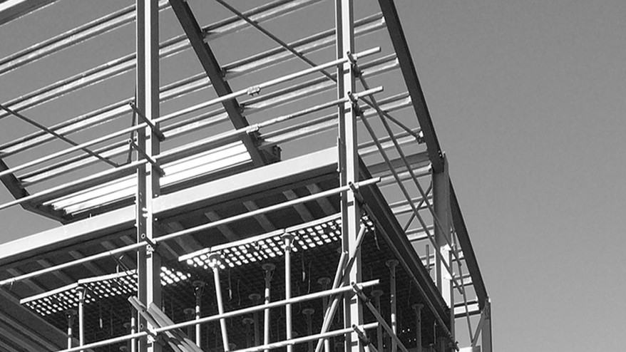 New built, steel frame