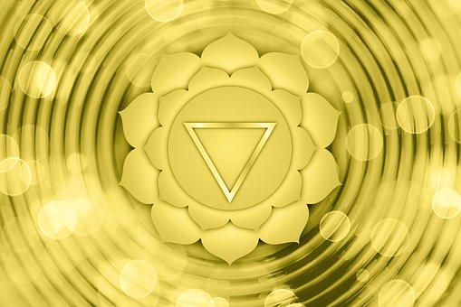 Solar Plexus Chakra color is Yellow