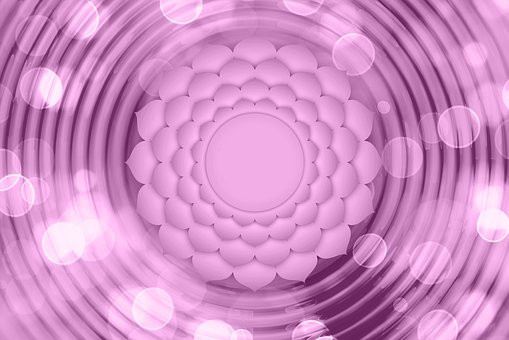 Violet is the color of the Crown Chakra