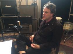 Stephen Janis In Studio recording Podcast