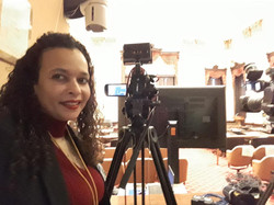 Taya shooting Video inside City Hall