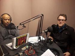 Stephen Janis with Sean Yoes at WYPR