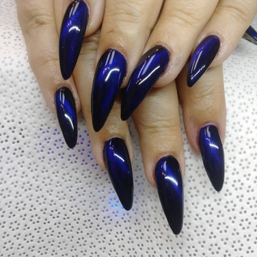 Blue Cat Eye Gel