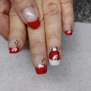 Christmas Hat Nails