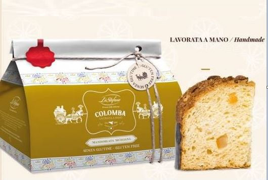 Colomba Mandorlata siciliana senza glutine Di Stefano