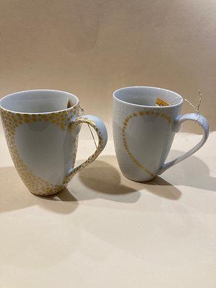 "Mug ""Love"" in porcellana"