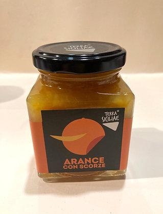 Marmellata di arancia con scorze 250g
