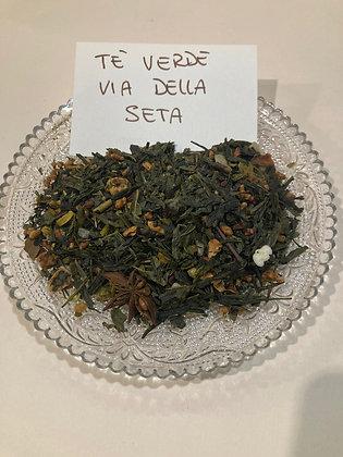 Tè verde via della seta