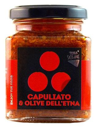 Capuliato di pomodoroee olive dell'Etna