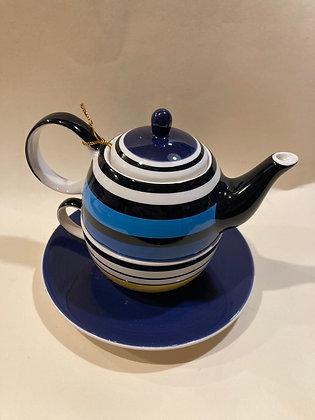 Teiera spezzata in ceramica