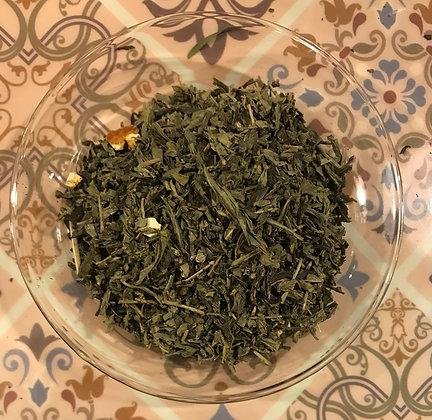 Tè Verde DETEINATO al Bergamotto