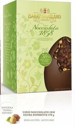 Uovo di cioccolato fondente nocciolato Baratti e Milano