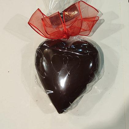Maxi Cuore di cioccolato fondente 200g