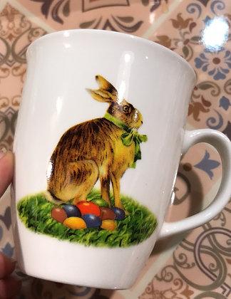 Tazza con coniglio doppio soggetto