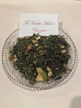Tè verde mela e zenzero