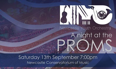 Newcastle Youth Orchestra British Proms