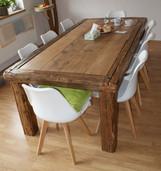 Jídelní stůl dubových trámů