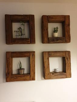 Rámečky ze starého dřeva