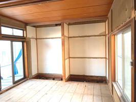 N様邸 2階旧和室解体