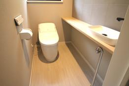 N様邸 1階トイレ