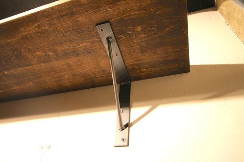 アイアンブラケット SLシリーズ[sl-15x2]棚受け15cm/2個セット