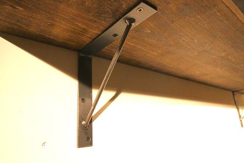 アイアンウォールシェルフ SLシリーズ 棚板セット[sl15s] セミオーダー 壁固定タイプ