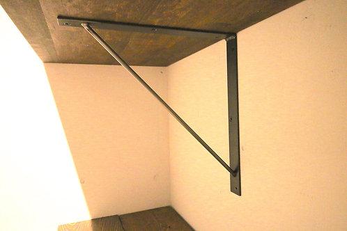 アイアンブラケット SLシリーズ[sl-25x2]棚受け25cm/2個セット