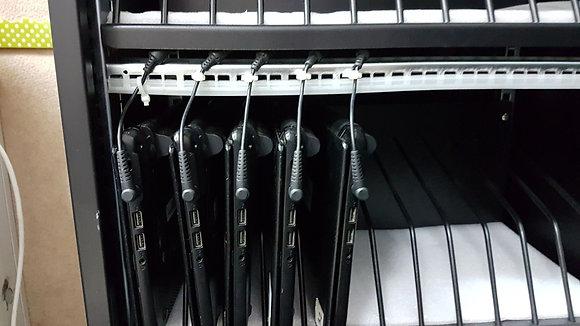 עגלת טעינה למחשבים ניידים/טאבלטים T-24