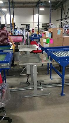 שולחן עבודה למפעל או למעבדה -עליון נירוסטה