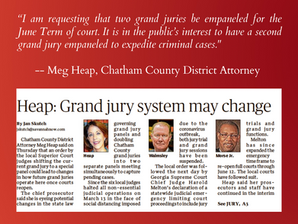 Heap: Grand Jury System May Change
