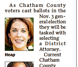 Savannah Morning News: What to know about the DA race
