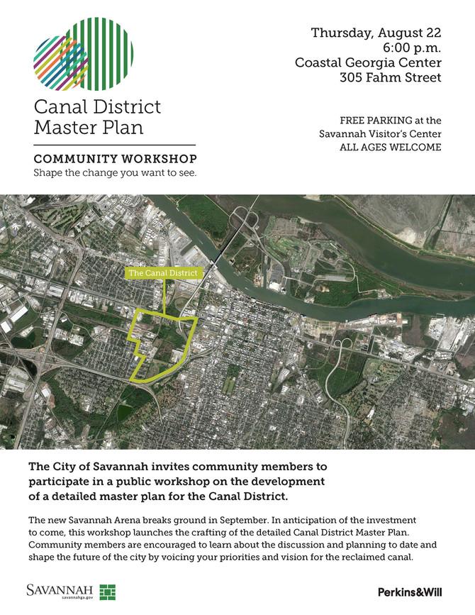 Canal District Master Plan: Community Workshop