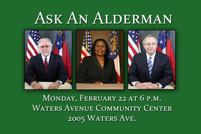 Ask An Alderman