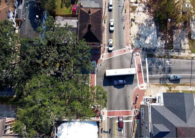 WatersAvenuePhase II Streetscape Improvements Ribbon Cutting