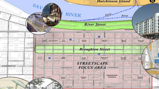 City of Savannah to hold Downtown Streetscape Initiative community meeting December 5