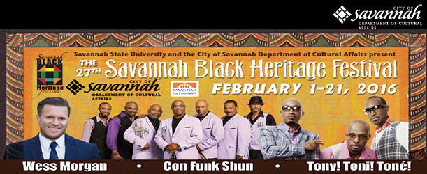 27th Annual Savannah Black Heritage Festival