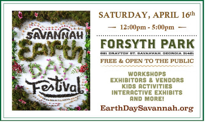 Earth Day - Saturday, April 16th