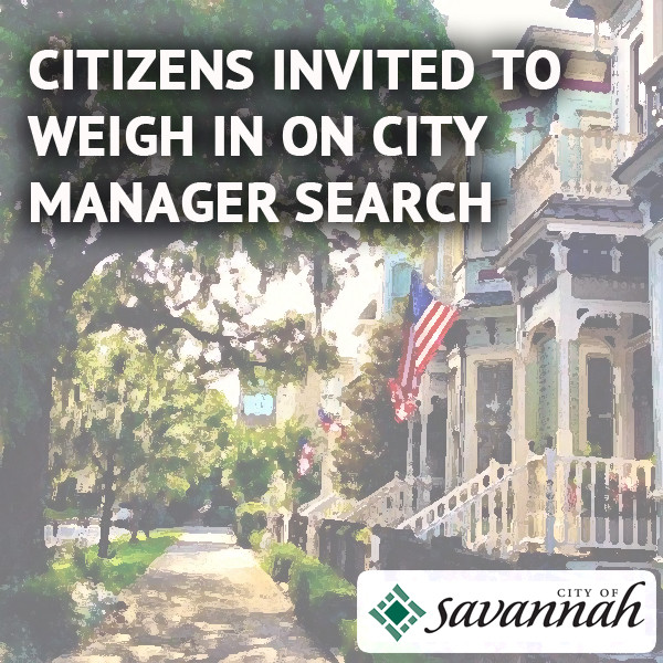 Citizens invited to weigh in on City Manager Search