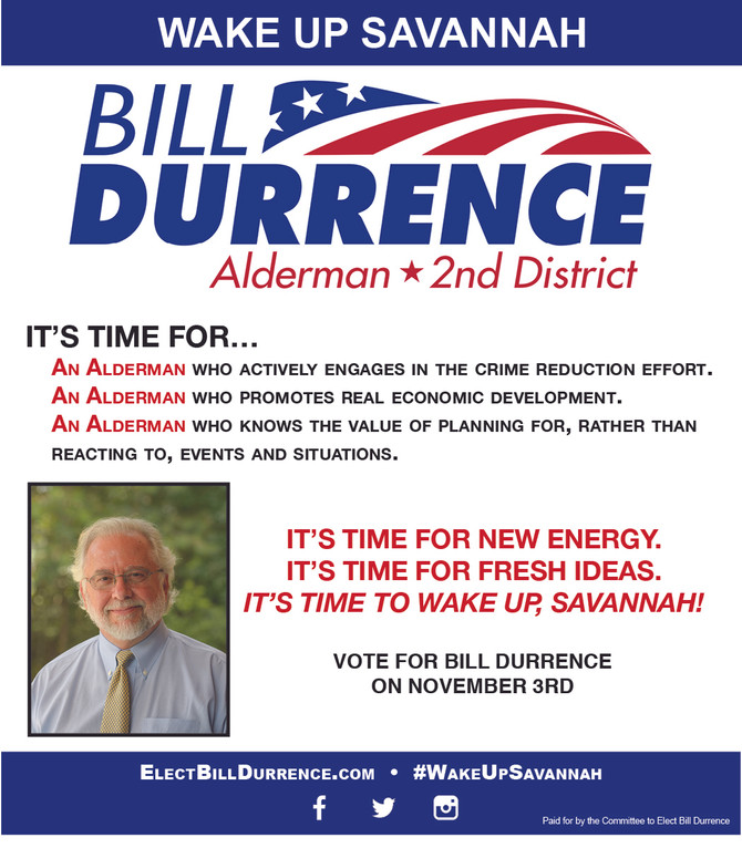 Bill's Interview with the Savannah Morning News