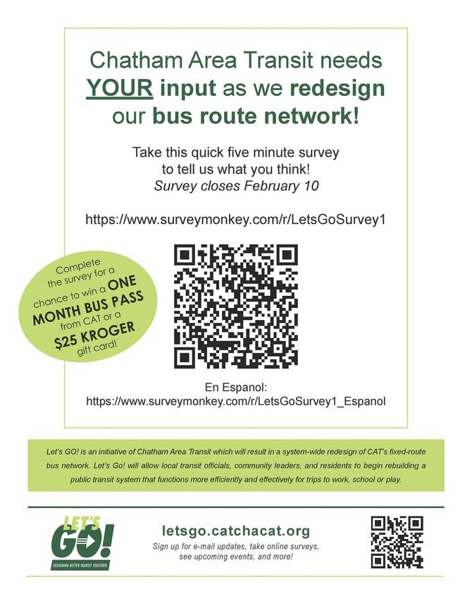 CAT Let's Go Survey