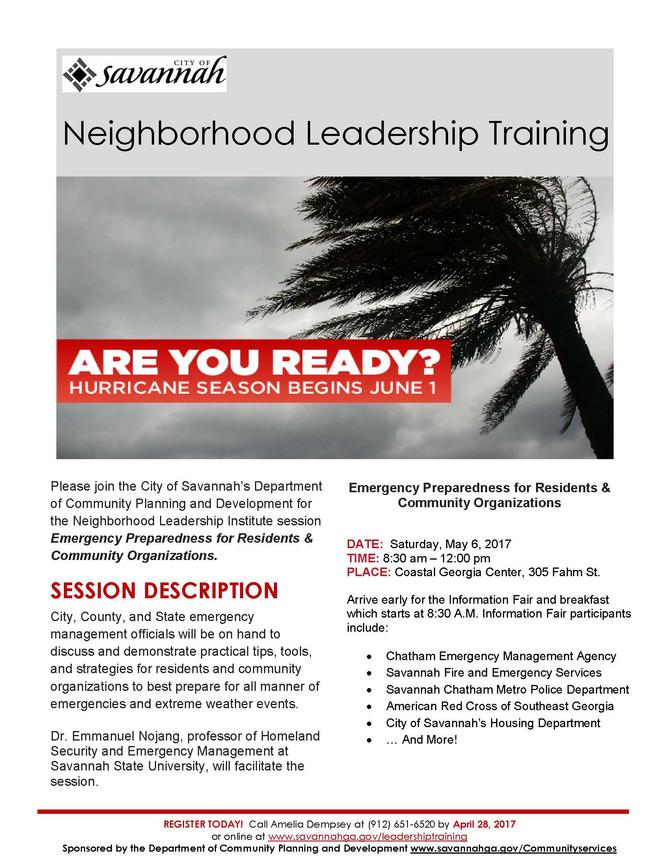 Neighborhood Leadership Institute