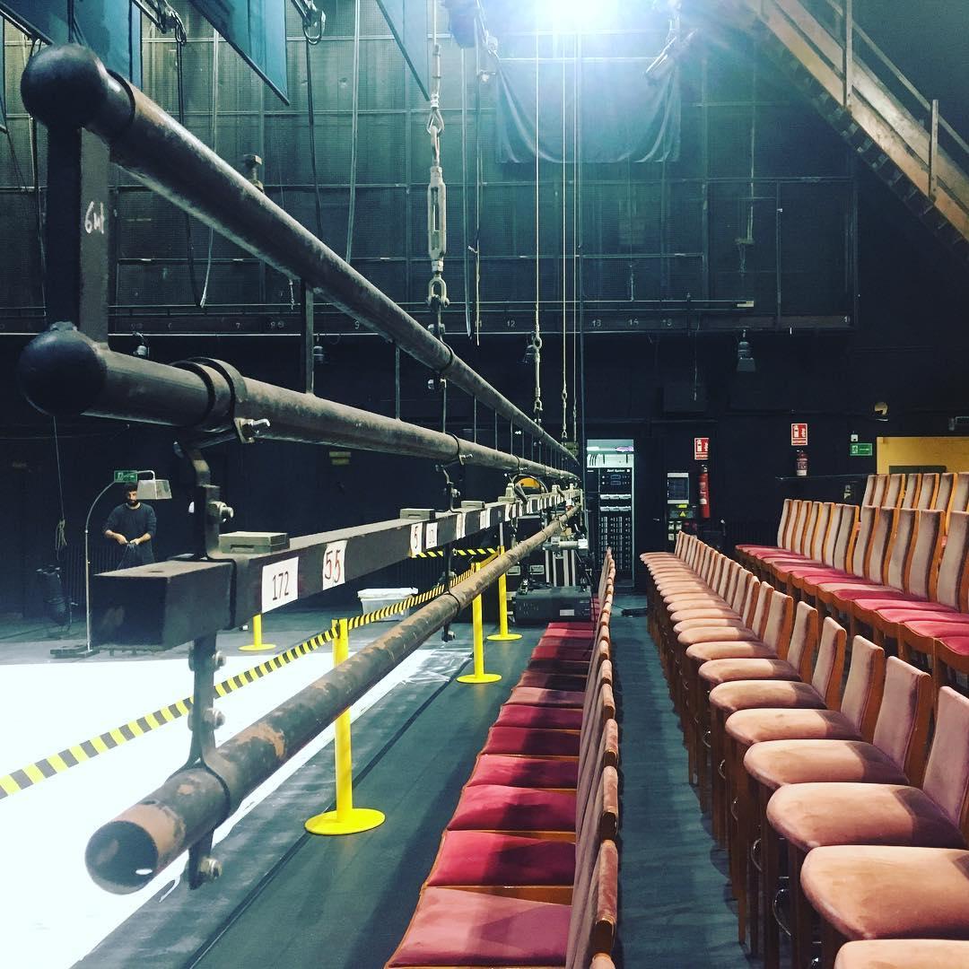 Backstage del Teatro Falla