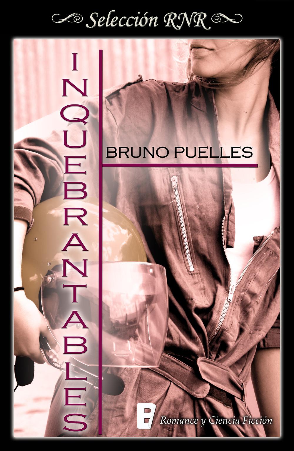 Portada de la novela A dónde van los dragones. Es negra con un dragón naranja de origami. Aparece también el título de la novela, el nombre del autor, Bruno Puelles, y el logo de la editorial, B de Books.