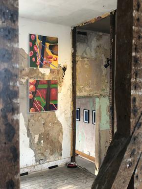 DAP Group exhibition at Safehouse 2, Peckham London July 2019