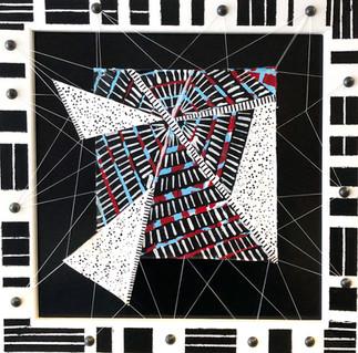 Anansi Tori Triptych medium