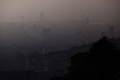 L'aire contaminat de Barcelona