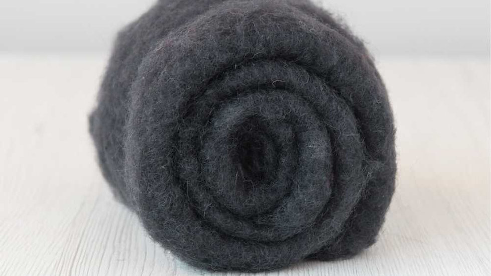 DHG Maori carded wool - Graphite