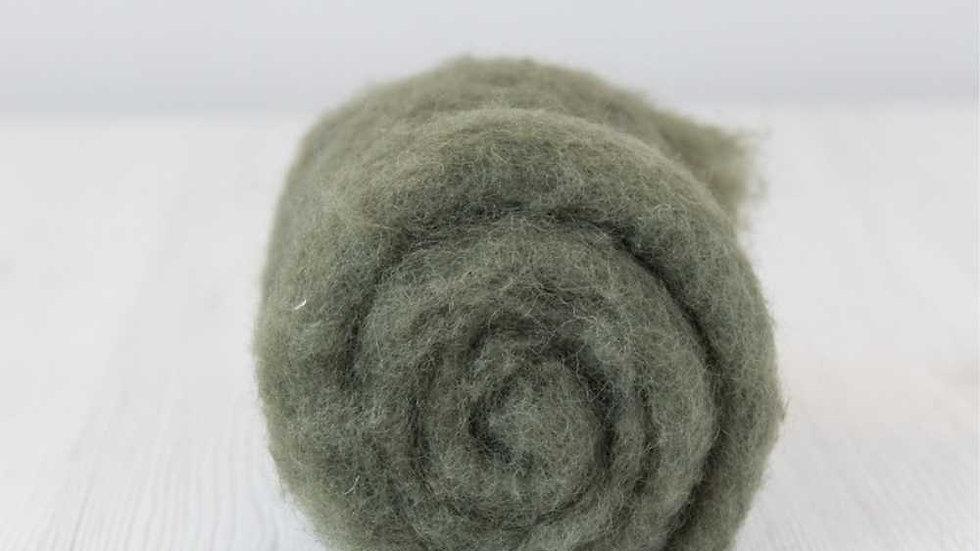 DHG Maori carded wool - Moss