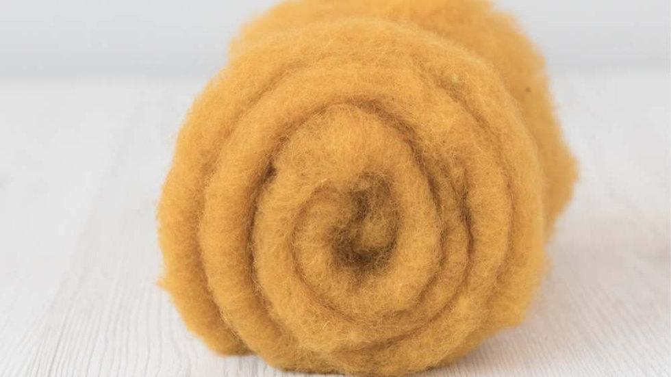 DHG Maori carded wool - Saffron